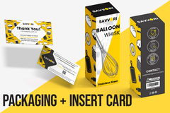 Package: Packaging design Box & Thank you card