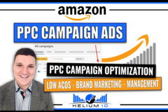 Package: Amazon FBA PPC Campaign Set Up + Monthly Mangement