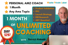 Package: UNLIMITED COACHING for 1 MONTH - All Your Questions Answered