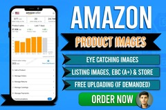 Package: design 5 attractive amazon listing images that tells a story