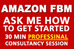 Package: Amazon FBM ASK me question  as want to help you get started