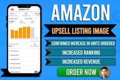 Package:   Upsell Amazon Listing Image - Guranteed Sales Boost !
