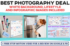 Package: Ultimate Amazon Listing Photography Bundle (8 images)