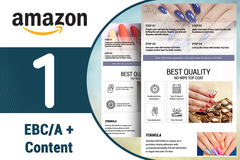 Package: Dazzling A+ Content / EBC to Enhance Amazon Product Listing