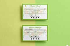 Package: Label Design + Insert Card - INCREASE AMAZON REVIEWS!