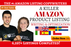 Package: A Killer SEO Listing, Front/Back End, KW Research & BONUS