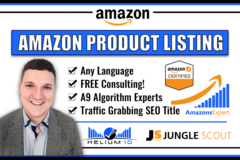 Package: Full Professional Amazon Listing & SEO product description