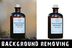 Package: 5 Background Removals for Amazon Images