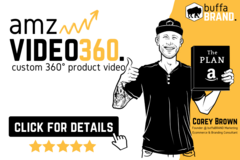 Package: Custom 360° Product Video | White Background With Call Out