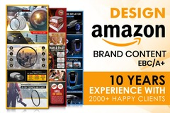 Package: I will design amazon enhanced brand content ebc a plus