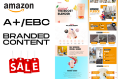 Package: I will Design Amazon Enhanced Brand Content EBC A+